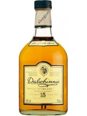 FLES DALWHINNIE MALT 15 YEARS OLD 0.7 LTR-0