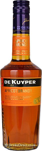 FLES DE KUYPER APRICOT BRANDY 0.50 LTR-0