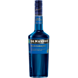 FLES DE KUYPER BLUE CURACAO 0.50 LTR-0