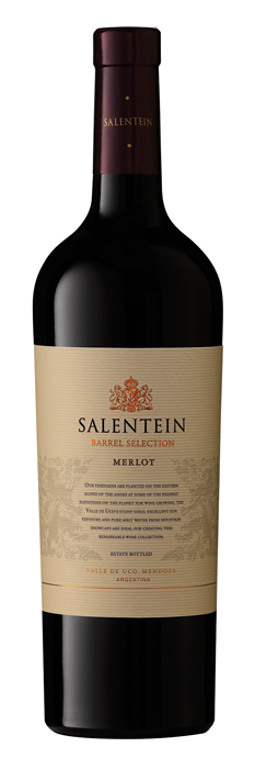 SALENTEIN BARREL SELECTION MERLOT 0.75LTR-0