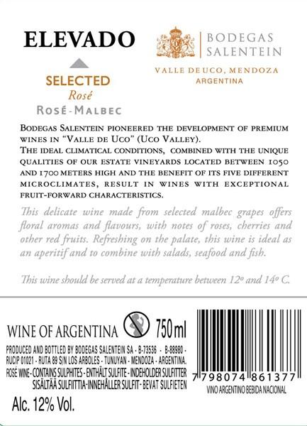 FLES ELEVADO (PASO) ROSE 0.75 LTR-2813
