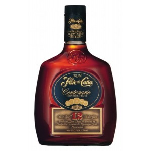 FLES FLOR DE CANA 12 YEARS + GB 0.70 LTR.-0
