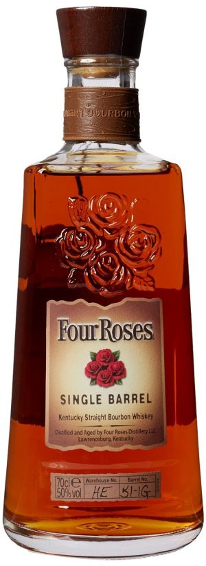 FLES FOUR ROSES SINGLE BARREL 0,70 LTR-0