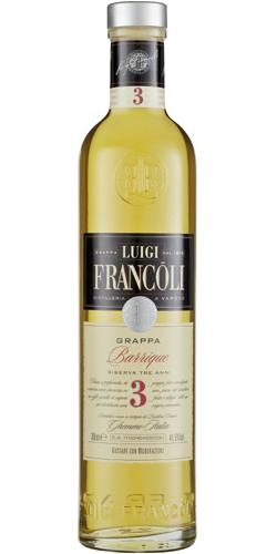 FLES LUIGI FRANCOLI GRAPPA PIEMONTE 3AN 0.70 L-0