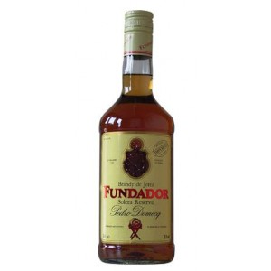 FLES FUNDADOR BRANDY DOMECQ 0,70 LTR-0