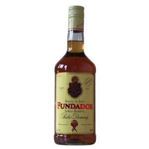 FLES FUNDADOR BRANDY DOMECQ 1,00 LTR-0