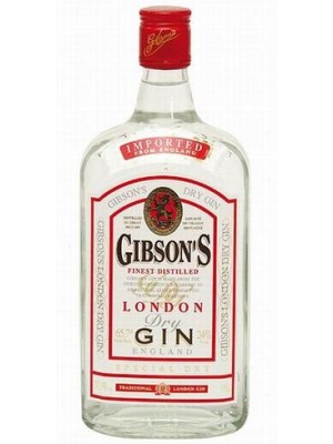 FLES GIBSON'S LONDON DRY GIN 0.70 LTR-0