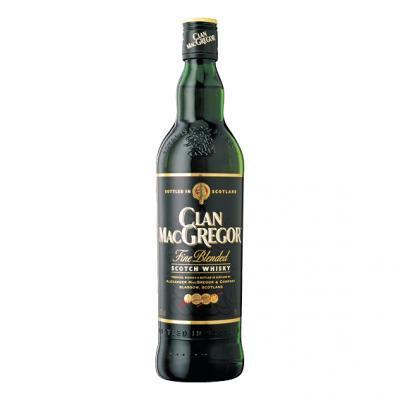 FLES CLAN MACGREGOR WHISKY 1,00 LTR-0