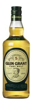 GLEN GRANT SINGLE MALT WHISKY 0.05 LTR-0