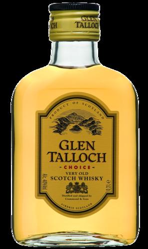 FLES GLEN TALLOCH WHISKY 0.20 LTR-0