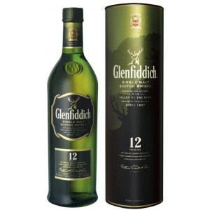 FLES GLENFIDDICH MALT 12 YEARS 1,0 LTR-0
