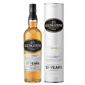 FLES GLENGOYNE SINGLE MALT 10 YEARS 0.7 LTR-0