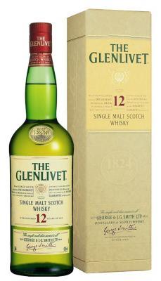 FLES THE GLENLIVET SMALL 12 YEARS OLD 0,2 LTR-0
