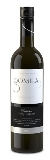 FLES GOMILA PINOT GRIGIO LJUTOMER-ORMOZ 0.70 L-0