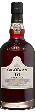 FLES GRAHAM'S PORT 10 YEARS OLD TAWNY 0.75 LTR-0