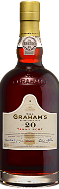 FLES GRAHAM'S PORT 20 YEARS OLD TAWNY 0.75 LTR-0