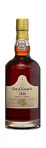 FLES GRAHAM'S PORT 30 YEARS OLD TAWNY 0.75 LTR-0