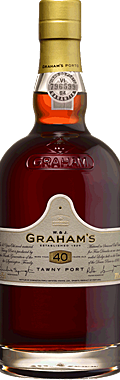 FLES GRAHAM'S PORT 40 YRS OLD T 0.75 LTR.-0