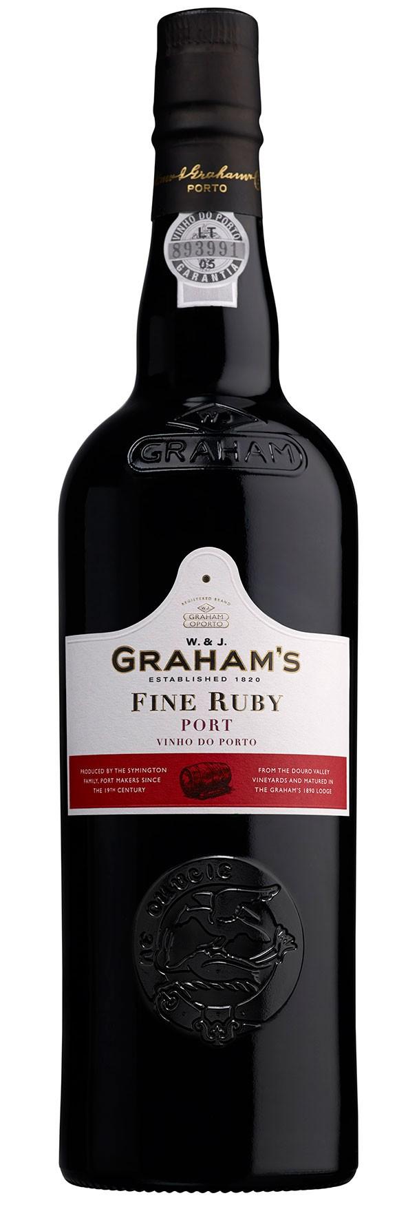 FLES GRAHAM'S PORT FINE RUBY 0.75 LTR-0