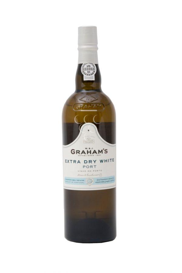 FLES GRAHAM'S EXTRA DRY WHITE PORT 0.75 LTR.-0