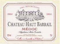 FLES CH. HAUT BARRAIL MEDOC CRU B 2004 0.70 LT-0