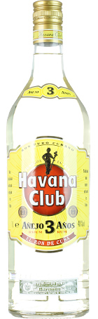 FLES HAVANA CLUB RUM WIT 3 YEARS 0.70 LTR-0