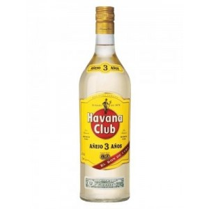 FLES HAVANA CLUB RUM WIT 3 YEARS 1.00 LTR-0