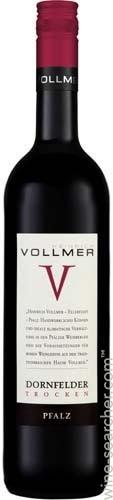 FLES VOLLMER DORNFELDER TROCKEN 0.75 LTR.-0