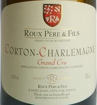 FLES CORTON CHARLEMAGNE GRAND CRU 0.75 LTR.-0