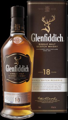 FLES GLENFIDDICH 18Y SMALL B RESERVE 0.7 LTR-0