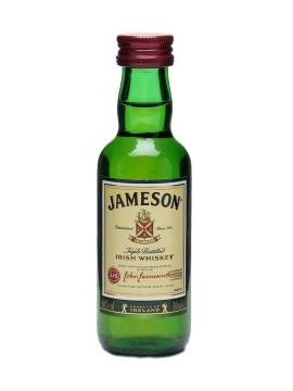 MINIATUUR JAMESON IRISH WHISKEY 0.05 LTR-0