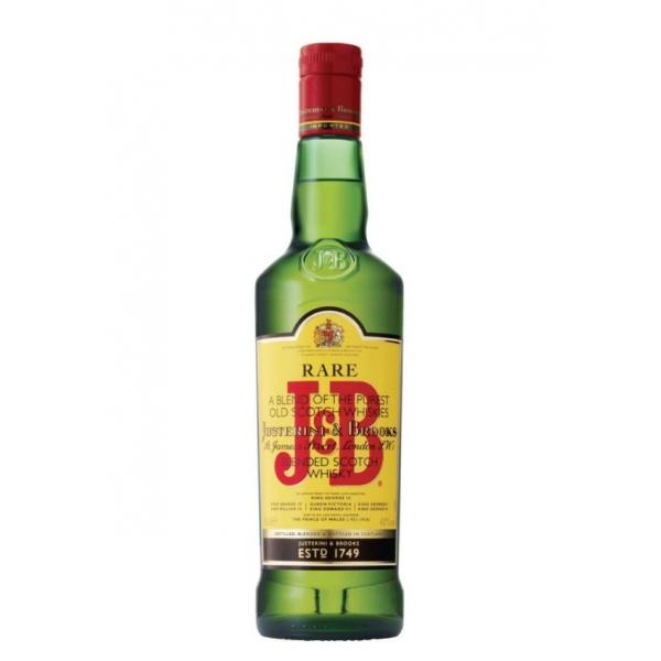 FLES J & B RARE SCOTCH WHISKY 1,00 LTR-0
