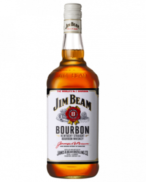 FLES JIM BEAM BOURBON WHITE 0.70 LTR-0