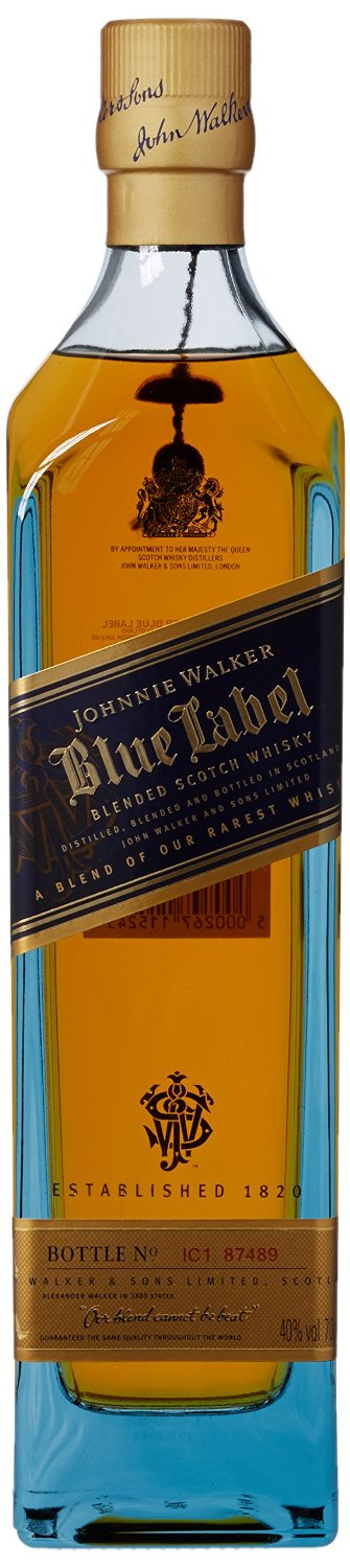 FLES JOHNNIE WALKER BLUE LABEL 0.70 LTR-0