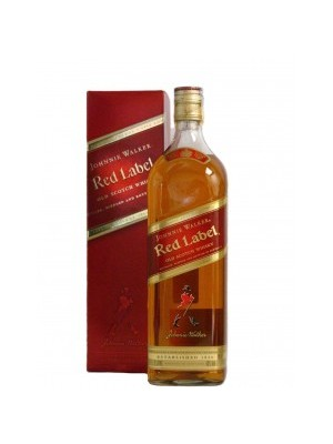 FLES JOHNNIE WALKER RED LABEL 0.35 LTR-0