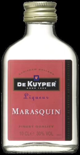 FLES DE KUYPER MARASQUIN 0.10 LTR-0
