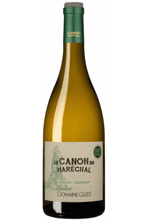 FLES LE CANON BLANC MUSCAT-VIONGIER 0.75 LTR.-0