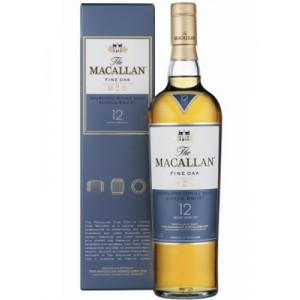 FLES THE MACALLAN TRIPLE CASK 12 YEARS 0.7 LTR-0