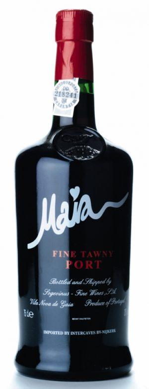 FLES MAIA FINE TAWNY PORT 0.75 LTR.-0
