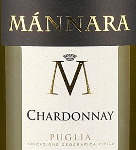 FLES MANNARA CHARDONNAY 0.75 LTR.-0