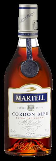 FLES MARTELL COGNAC GORDON BLEU 0.70 LTR-0