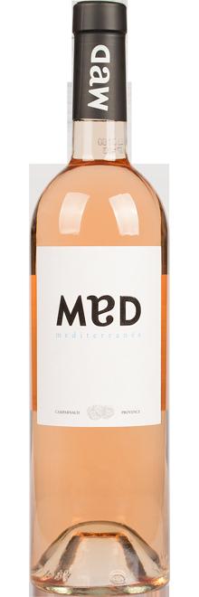 FLES MED PROVENCE ROSE 0.75 LTR.-0