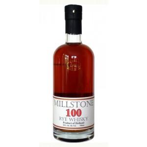 FLES MILLSTONE 100 RYE 50,00 % WHISKY 0.7 LTR-0