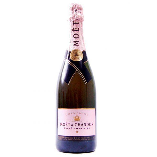 FLES MOET & CHANDON CHAMPAGNE BRUT ROSE 0,75 L-0