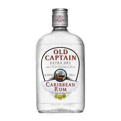 FLES OLD CAPTAIN RUM WIT 0.35 LTR-0