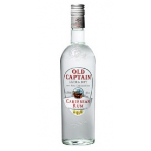 FLES OLD CAPTAIN RUM WIT 0.7 LTR-0