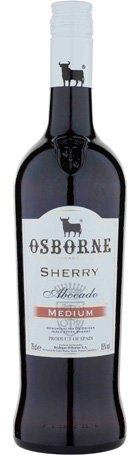 FLES OSBORNE MEDIUM SHERRY 0.75 LTR-0