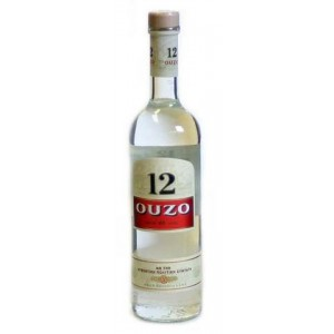 FLES OUZO 12 0.70 LTR-0