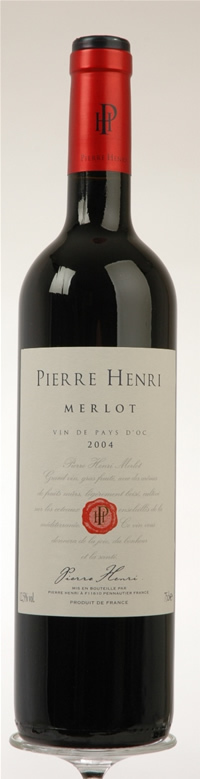 FLES PIERRE HENRI MERLOT 0.75 LTR-0