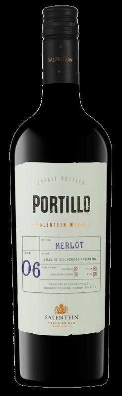 FLES PORTILLO MERLOT 0,75 LTR-0